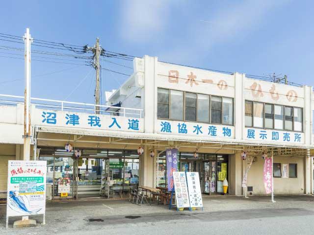 沼津我入道漁協水産物展示即売所