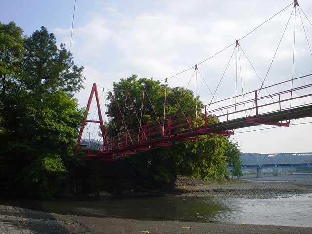 小長井吊橋