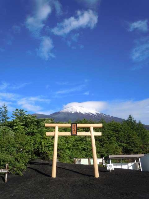 富士山御殿場口新五合目