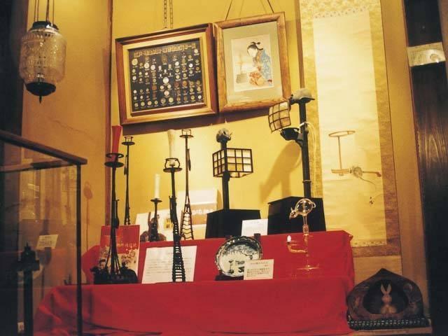 由比宿 東海道 あかりの博物館