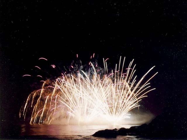 白浜海の祭典納涼花火大会