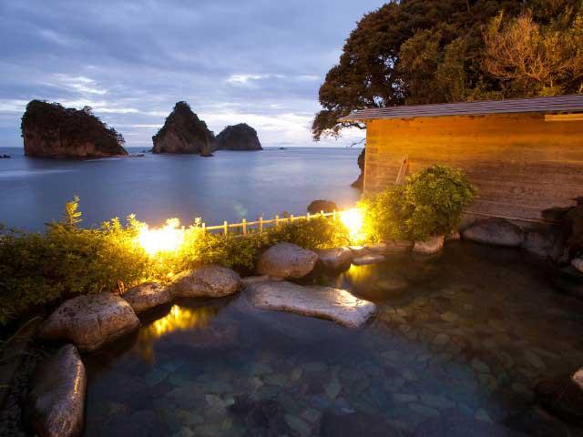 堂ヶ島温泉ホテル(日帰り入浴)