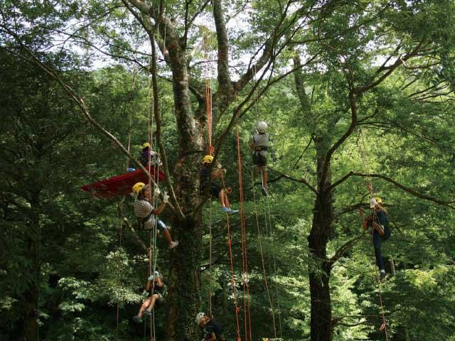 『自然体験活動』響樹