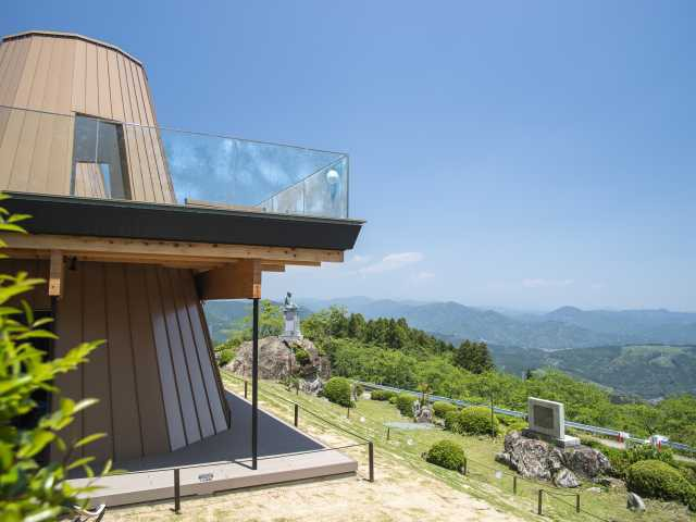 粟ヶ岳世界農業遺産茶草場テラス