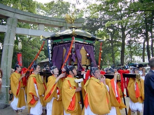 白鳥神社秋季大祭