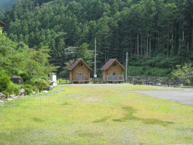 白髪山ふれあいの村休養センター(キャンプ場)