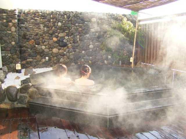 天然の湯ながおか温泉