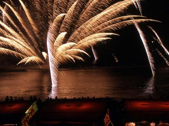 須崎まつり海上花火大会
