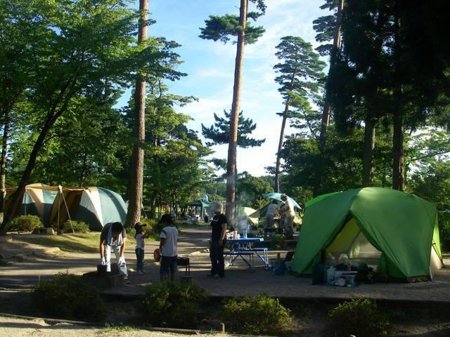 森の国「いこいの森キャンプ場」