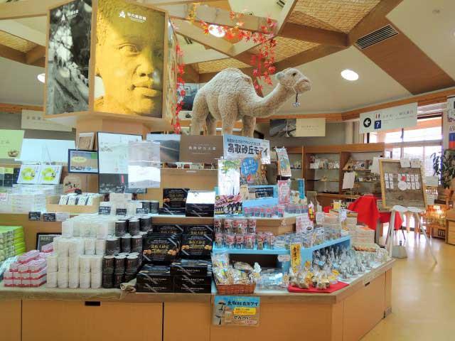 砂の美術館売店