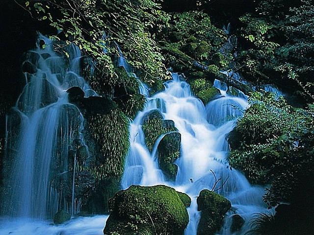 御手洗の滝