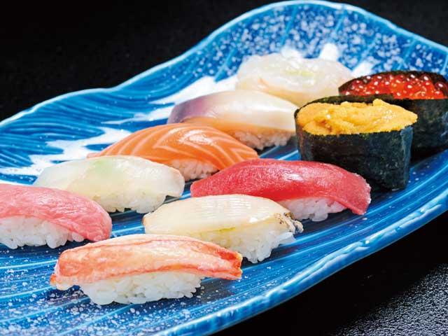 函館の寿司
