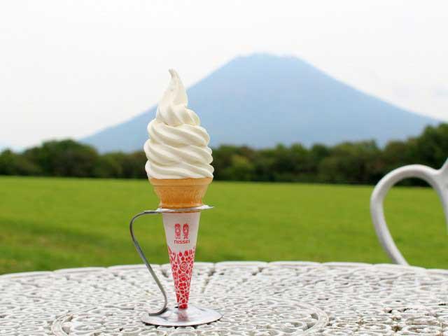 ニセコのアイスクリーム