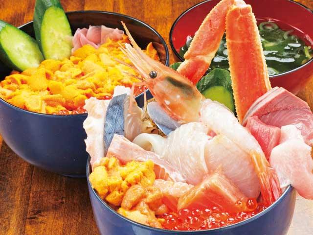 札幌の海鮮丼