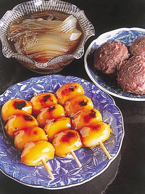 成田の焼きだんご