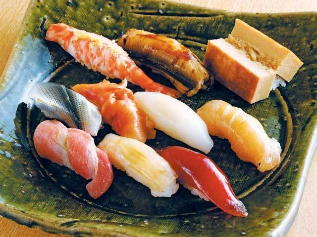 銀座の寿司