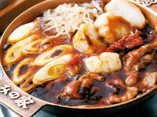東京下町の桜鍋