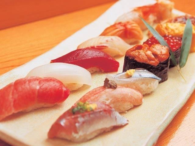 築地の寿司