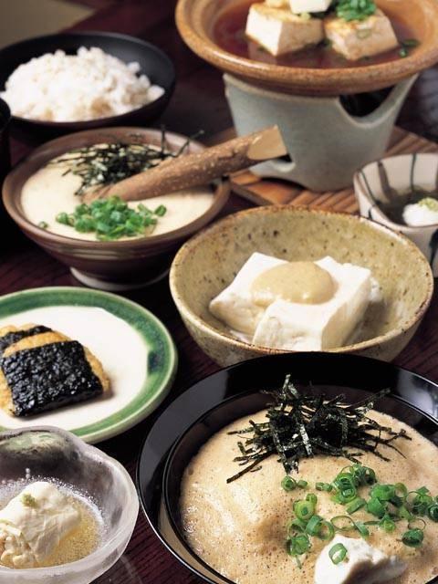 箱根の豆腐料理