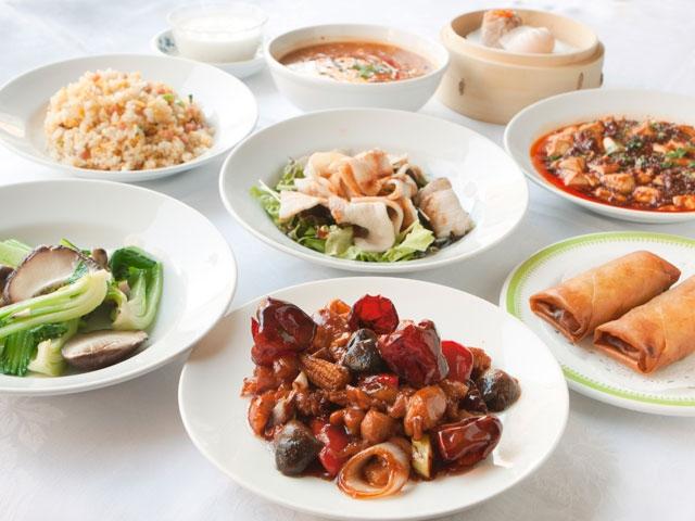 横浜中華街の中華料理