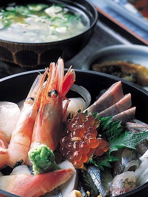 佐渡の海鮮料理