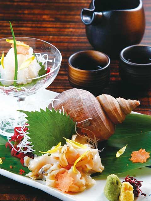 富山のバイ貝