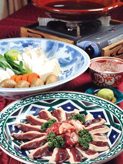 加賀の鴨料理