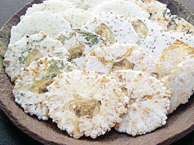 アサリ煎餅