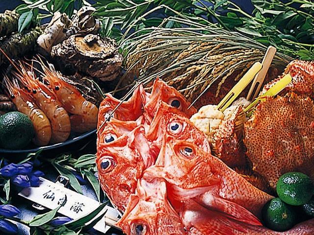 仙台の海鮮料理