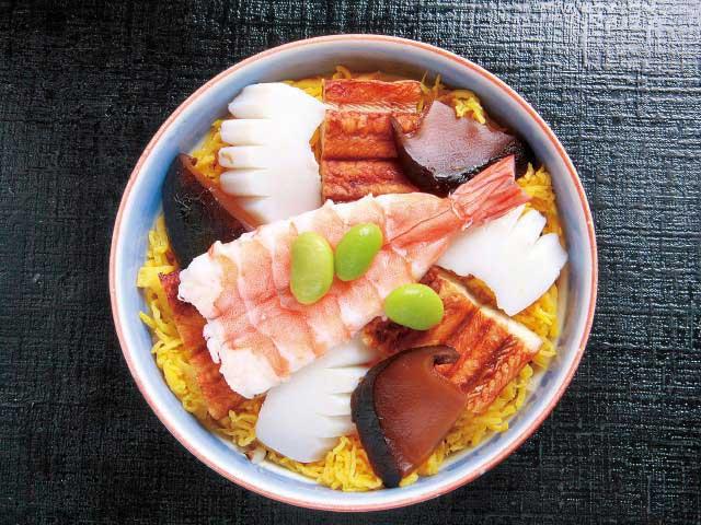 京都のむし寿司