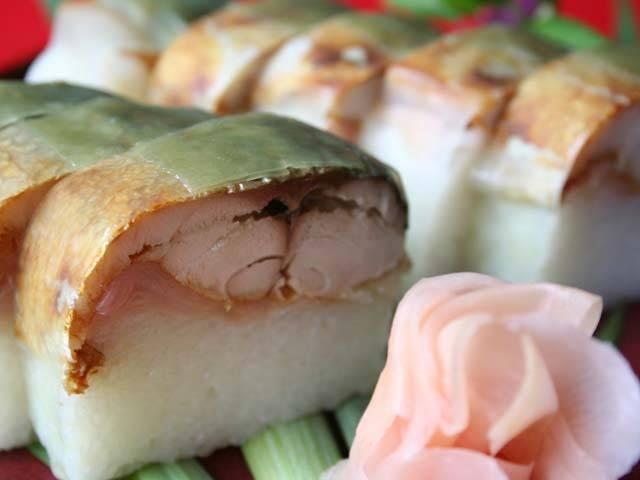 丹後のサバ寿司