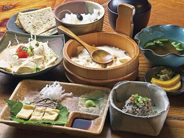 丹波の豆腐料理