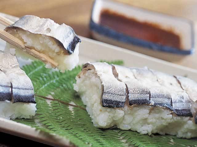 熊野・新宮のサンマ寿司