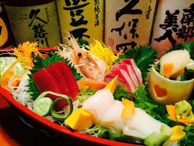 三陸の海鮮料理