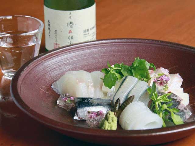 松山の海鮮料理