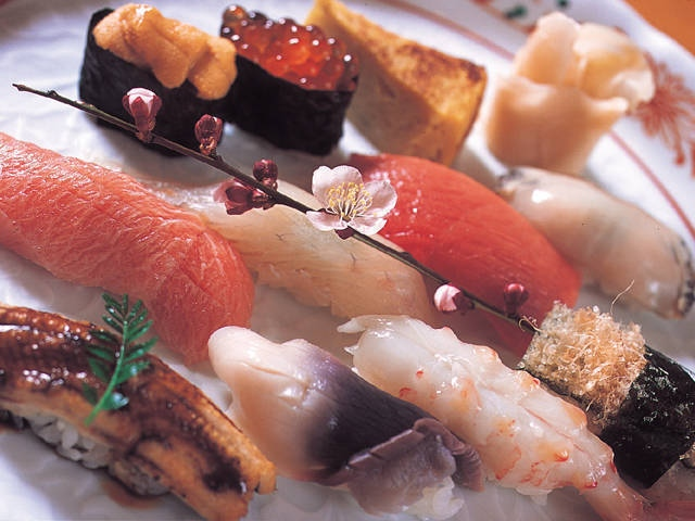 塩竈の寿司