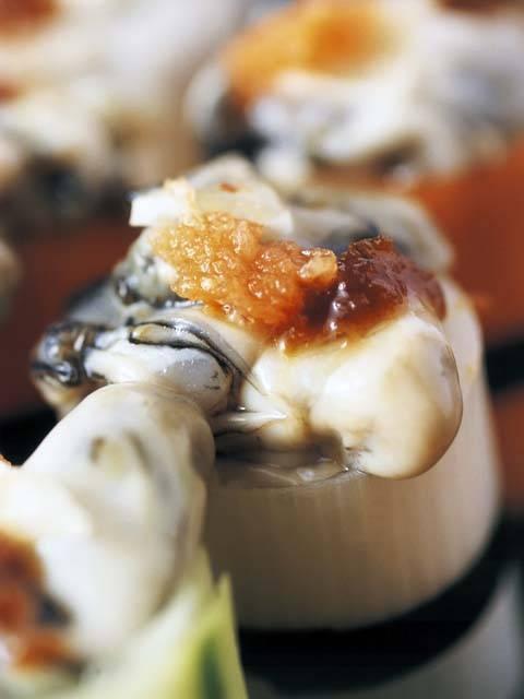 九十九島の牡蠣