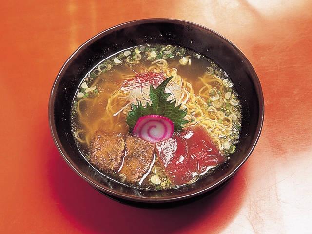 串木野マグロラーメン
