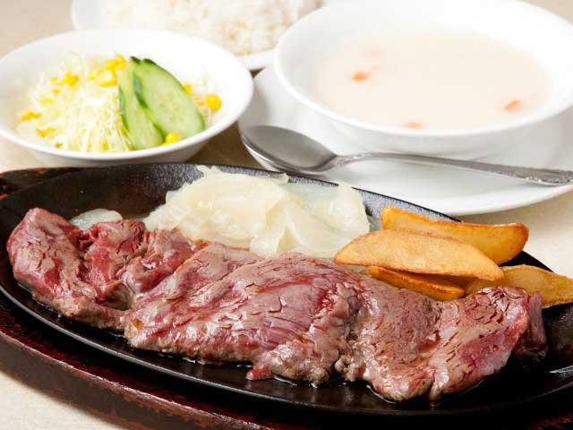 沖縄のステーキ