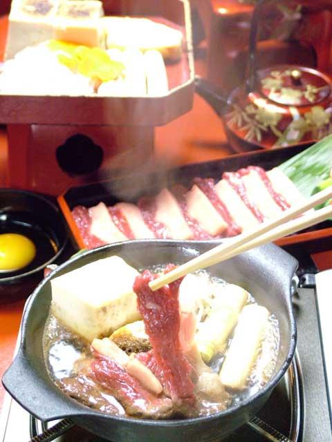 会津の馬肉料理