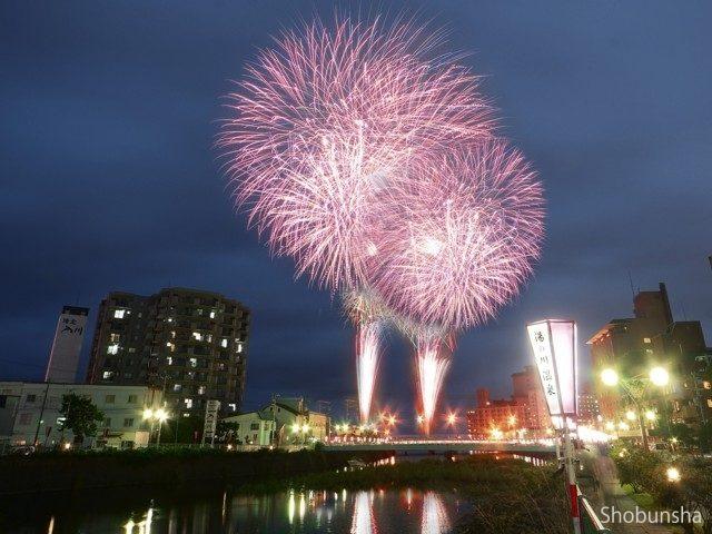 湯の川温泉花火大会(北海道)