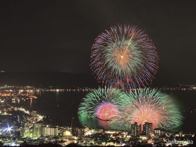 諏訪湖祭湖上花火大会(長野県)