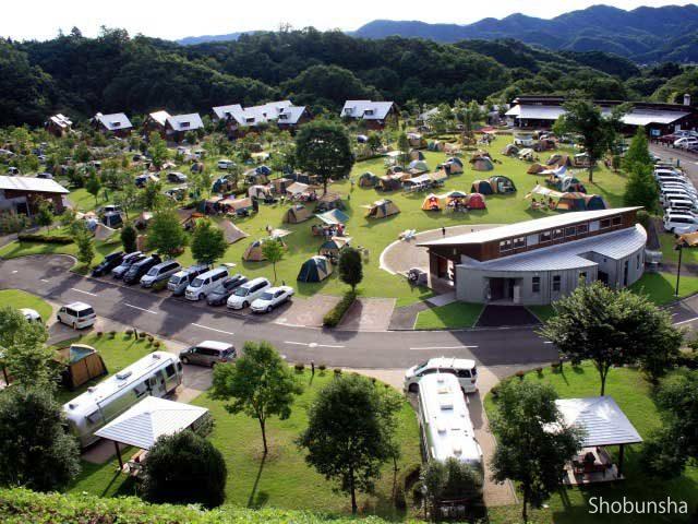 3.温泉もある関東屈指の高規格キャンプ場!