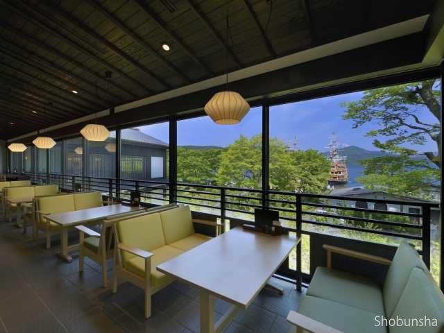 茶屋本陣 畔屋Cafe KOMON「湖紋」