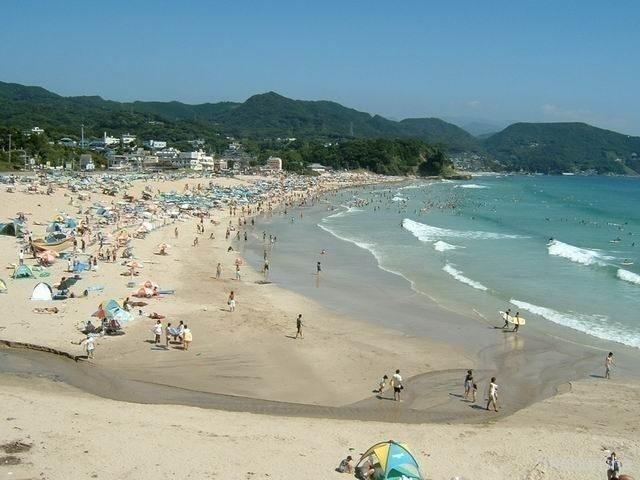 広すぎる白砂 白浜大浜海水浴場(静岡県)