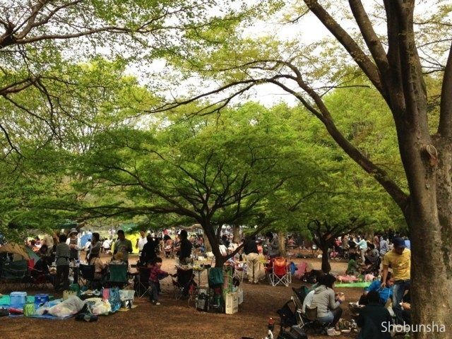 小金井公園バーベキュー広場(東京都)