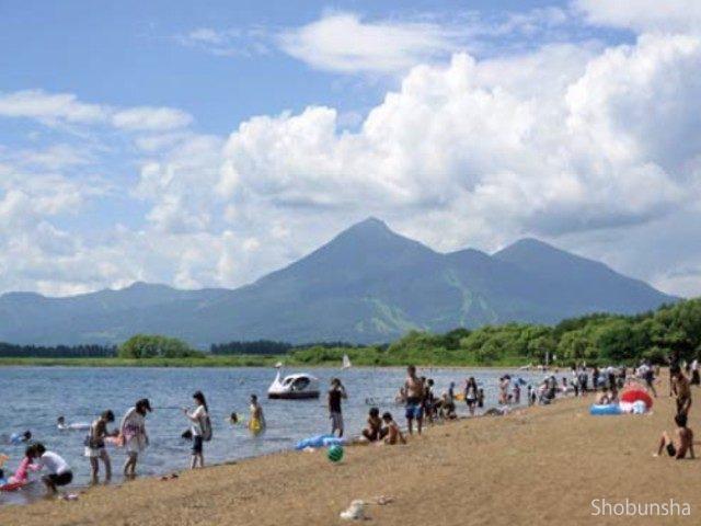 湖水がきれい 志田浜湖水浴場(福島県)
