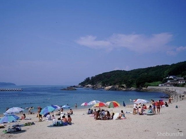 離島のビーチ 網地白浜海水浴場(宮城県)