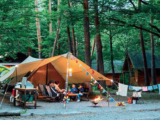 関東 キャンプ 場
